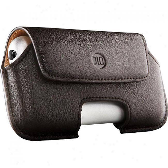 Dlo Black Hipcase Leather Holster For Iphone And Iphone 3g