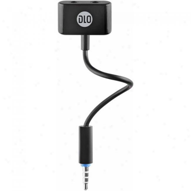 Dlo Headphone Splitter For Iphone/jpod
