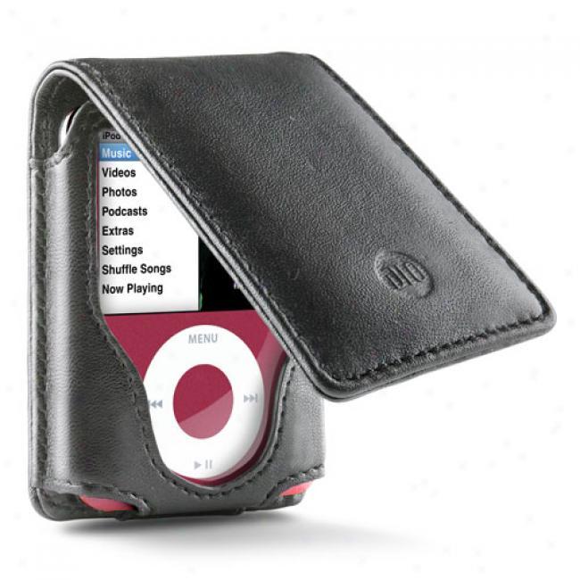 Dlo Hipcase Leather Folio For Ipod Nano 3g