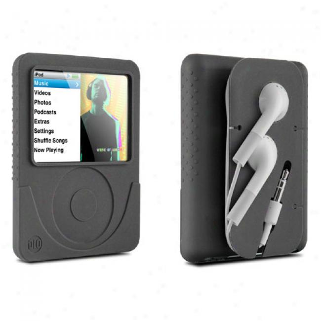 Dlo Jam Jacket W/ Cord Management For Ipod Nano 3g, Black