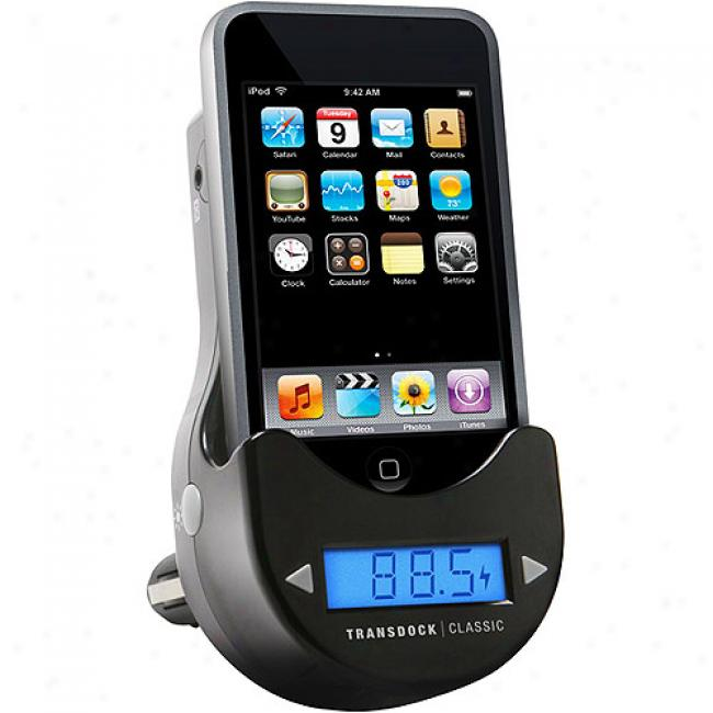 Dlo Transdock Clssic Fm Transmitter Upon Intellitune On account of Ipod