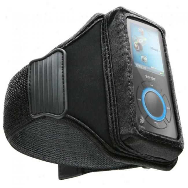 Dlo Universal Action Jacket For Mp3 Plyers, Black