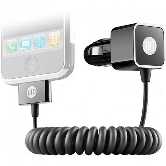 Dlo Vehicle Power Charger For Iphone And Iphone 3g