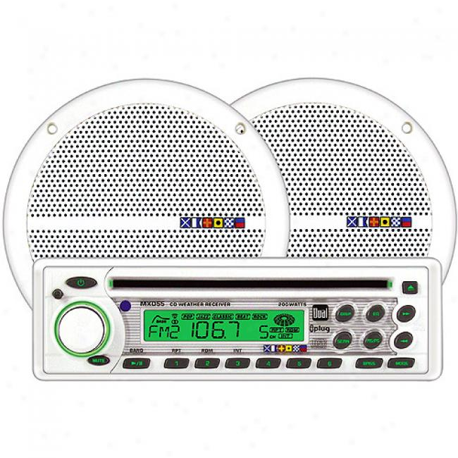 Dual Electronics Mxcp554 Marine Radio/cd