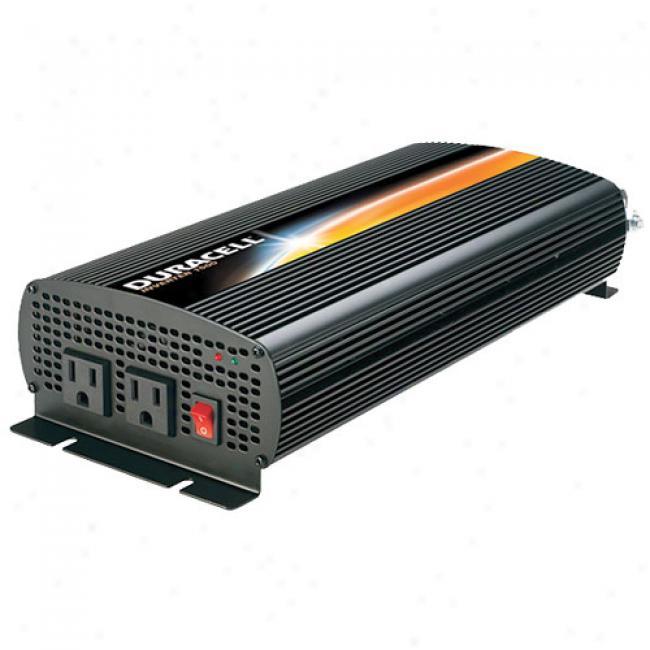 Duracell - 1500-waty Power Inverter, D-1500