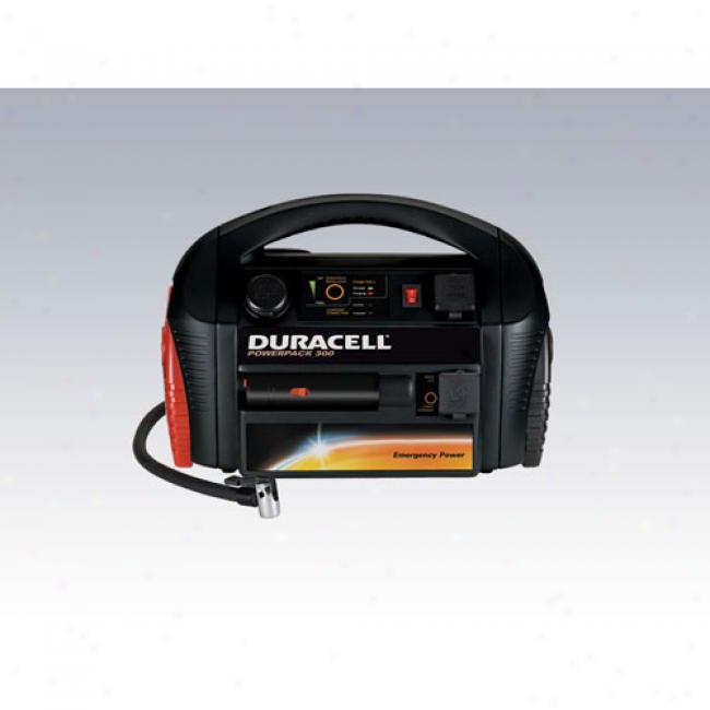 Duracell - 300-watt Powerpack 300 Power Inverter