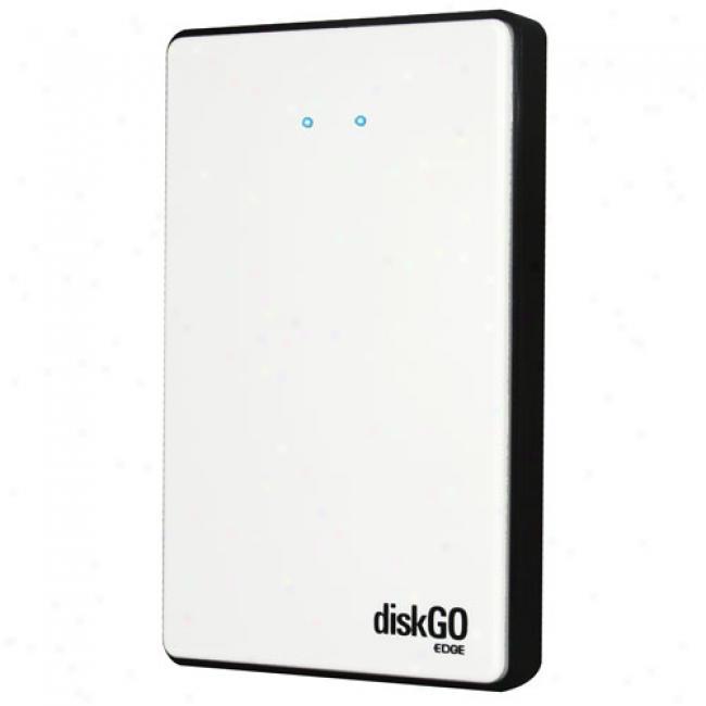 Edge 160gb Diskgo 2.5in. Ultra Portable Usb 2.0 Hard Drive In Glacier