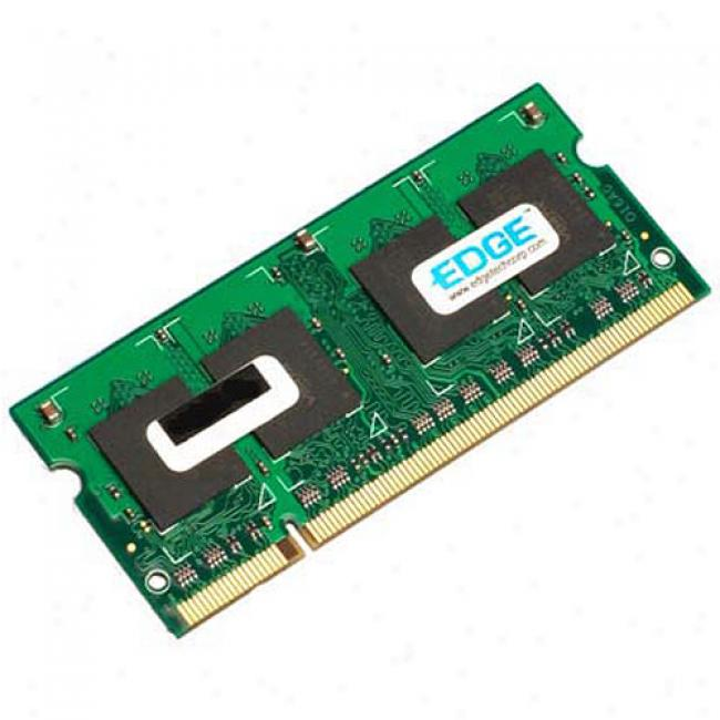 Edge 256mb Pc2-4200 Ddr2 533mhz 200-pin Sodimm Notebook Memory Module
