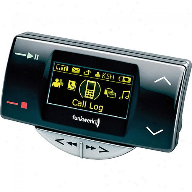 Ego Bluetooth Flash Car Kit With Oled Display And Audio Playback