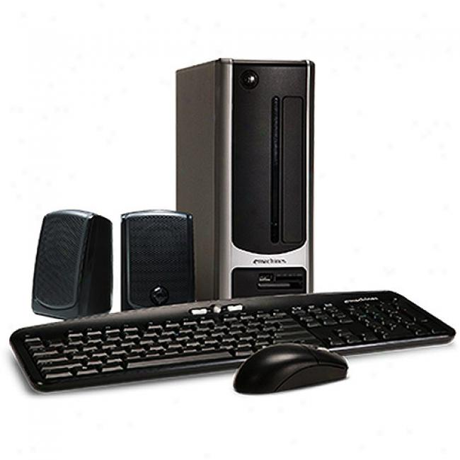 Emachines El1200-07w Desktop Pc W/ Amd Athlon 2650e Processor