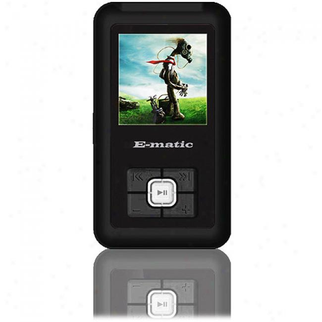 Ematic 2gb Video Mp3 Player With 1.5
