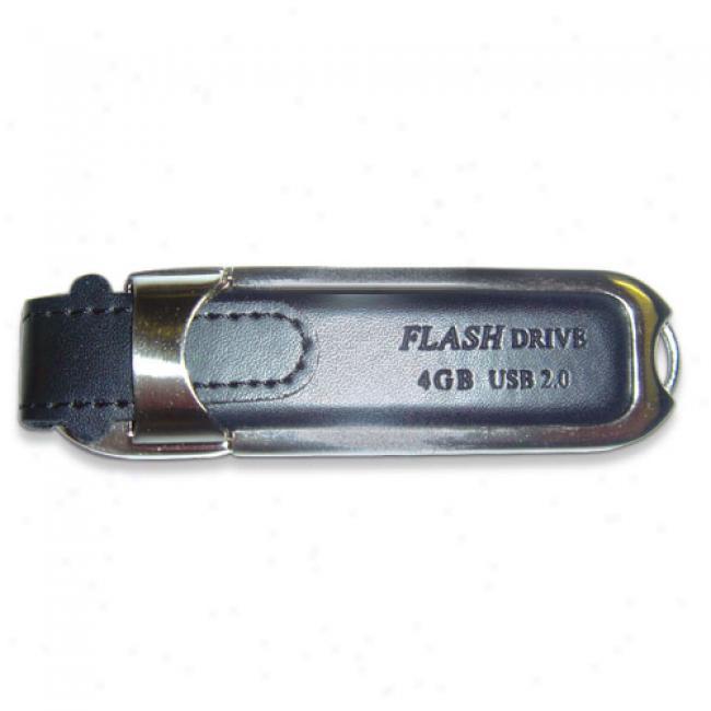 Ematic 4gb Hi-speed Usb 2.0 Flash Drive, Black