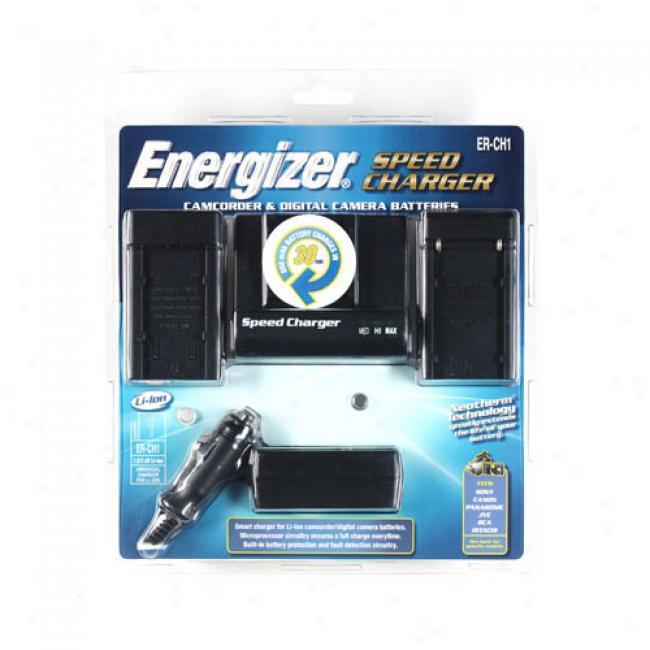 Energizer Camcorder/digital Camera Speed Charger Er-ch1