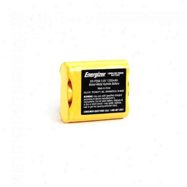 Energizer Er-p268 Cordless Phone Battery