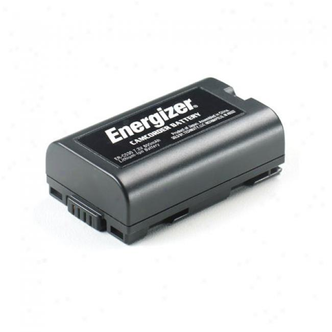 Energizer Lithium Ion Camcorder Battery Er-c530