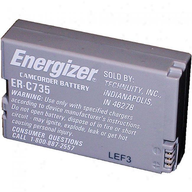 Enregizer Lithium Ion Camcorder Battery Er-c735