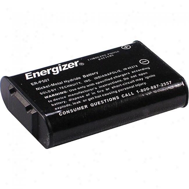 Energizer Nimh Cordless Phone Battery Er-p507