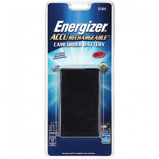 Energizer Sealed Lead Acid Camcorder Battery Cv3010s-c