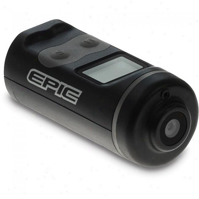 Epic Action Sports Video Cam 5mp - Available With Action Mounts & Waterproof Case