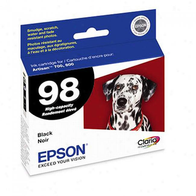 Epson Artisan700/800 Black Inkjet Ink Cartridge