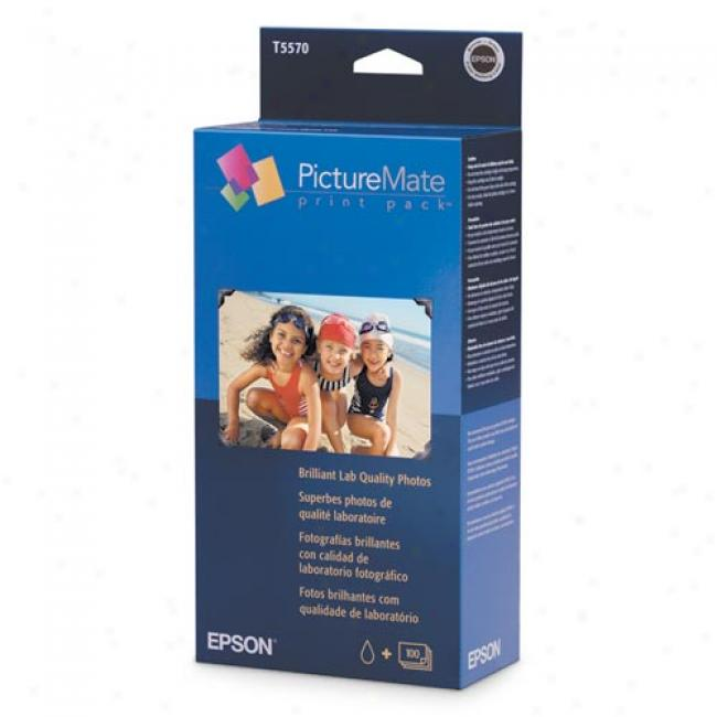 Epson Picturemate Print Pack, Glossy