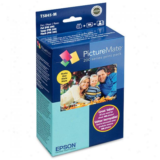 Epson Picturemate Impress Pack, Matte