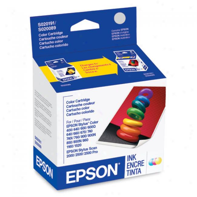 Epson S191089 Color Ink Cartridge