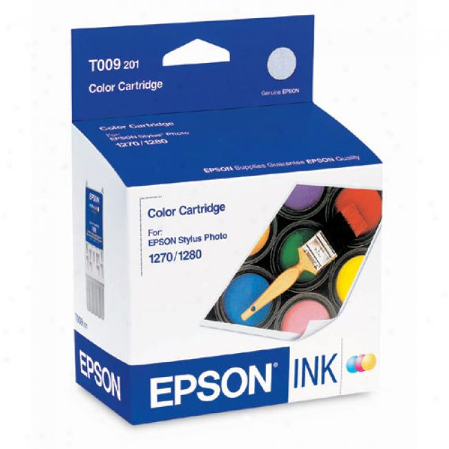 Epson T009201 Color Ink Cartridge For Stylus Photo 1270/1280