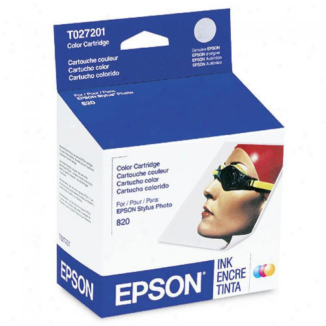 Epson T027201 Colo rInk Cartridge