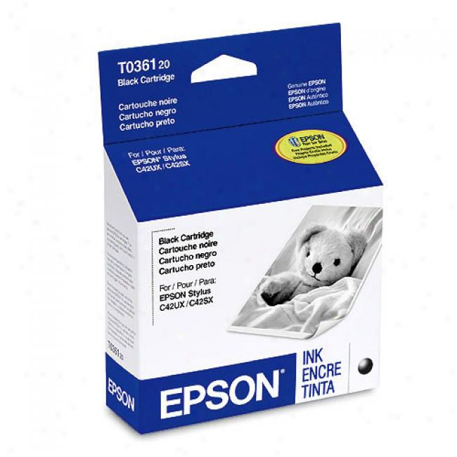 Epson T036120 Black Ink Cartridge