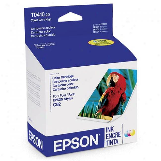 Epson T041020 Color Ink Cartridge (cyan, Yellow, Magenta)