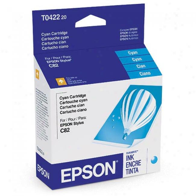 Epson T042220 Ink Cartridge, Cyan