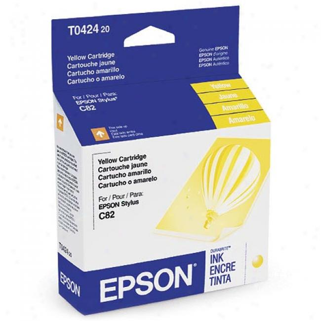 Epson T042420 Ink Cartridge, Yellow