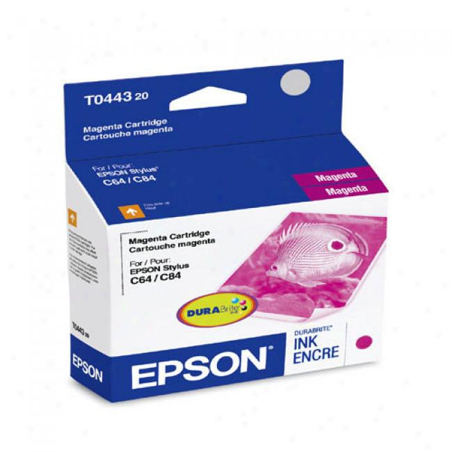 Epson T044320 Ink Cartridge (magenta)