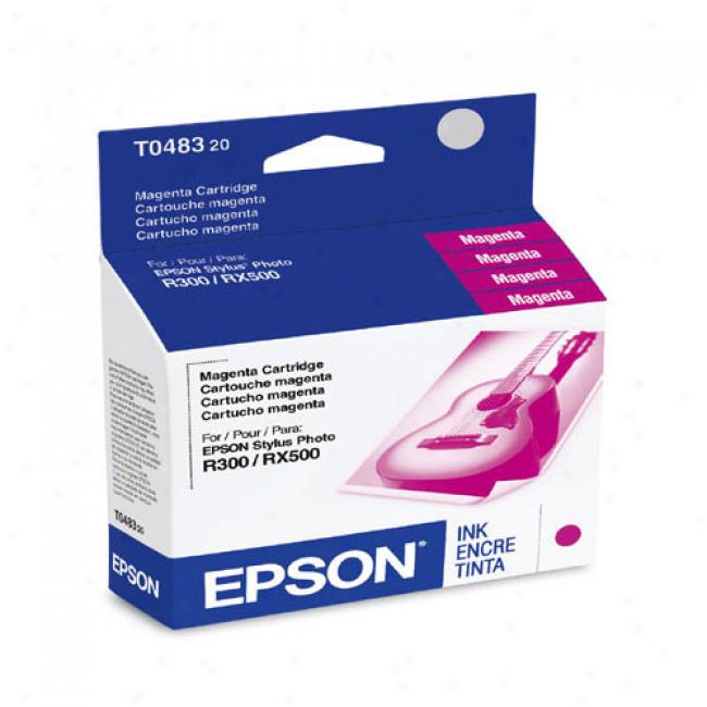 Epson T048320 Ink Cartridge, Magenta