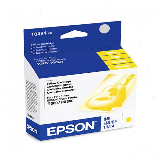 Epaon T048420 Ink Cartridge, Yellow