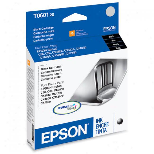 Eposn T060120 Ink Cartridge, Black
