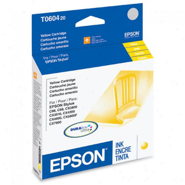 Epson T060420 Ink Cartridge, Yellow