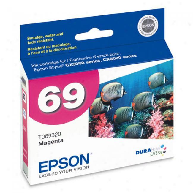 Epson T069320 Durbarite Ultra Ink, Magenta