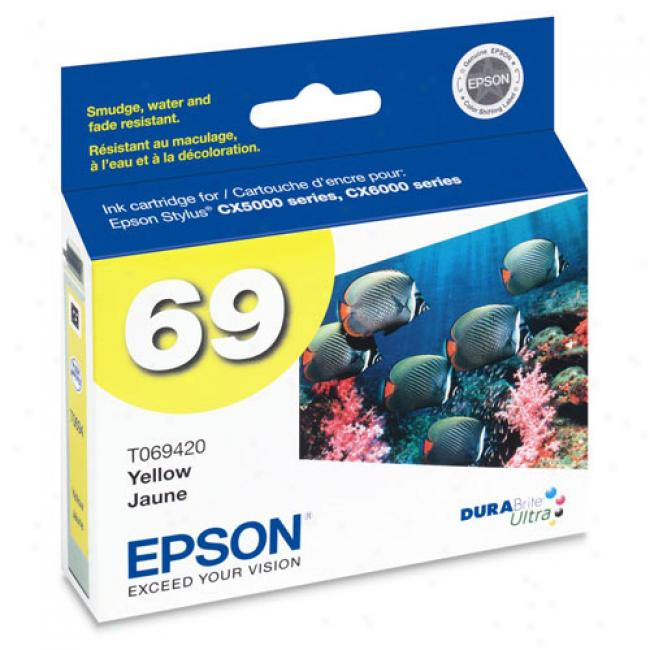Epson T069420 Durabrite Ultraa Ink, Yellow