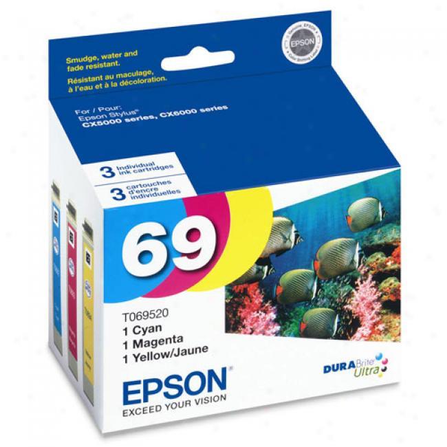 Epson T069520 Durabrite Ultra Ink, Multipack