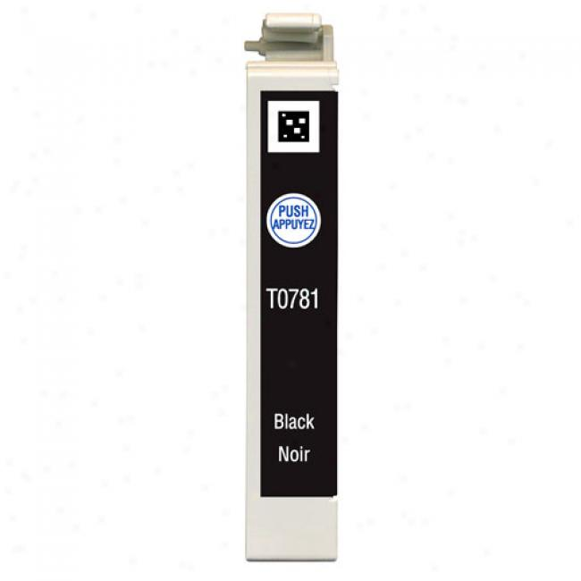 Epson T078120 Claria Hi-definition Black Ink Cartridge For Epson Stylus Photoprinters