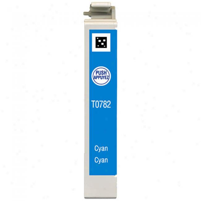 Epson T078220 Claria Hi-definition Cyan Ink Cartridge For Epson Stylus Photo Printers