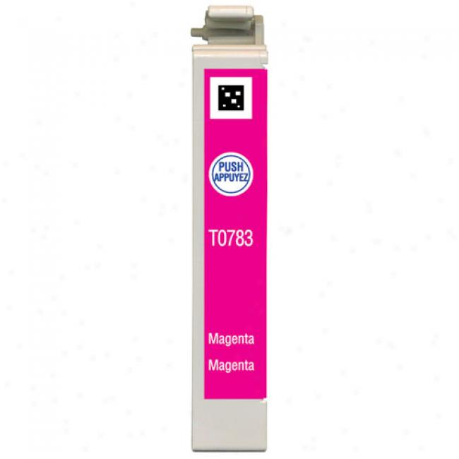 Epson T078320 Claria Hi-definition Magenta Ink Cartridge Toward Epson Stylus Photo Printers