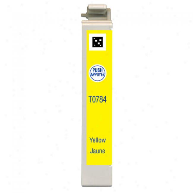 Epson T078420 Claria Hi-definition Yellow Ink Cartridge For Epson Styluw Photo Printers