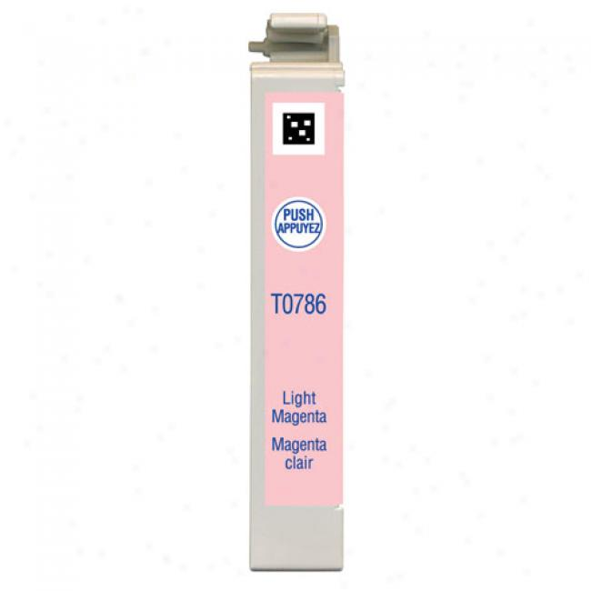 Epson T078620 Claria Hi-definitioj Light Magenta Ink Cartridge For Epson Stylus Photo Printers