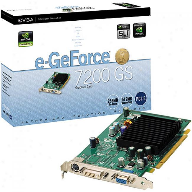Evga 256mb Pci-e E-geforce 7200gs Graphics Card