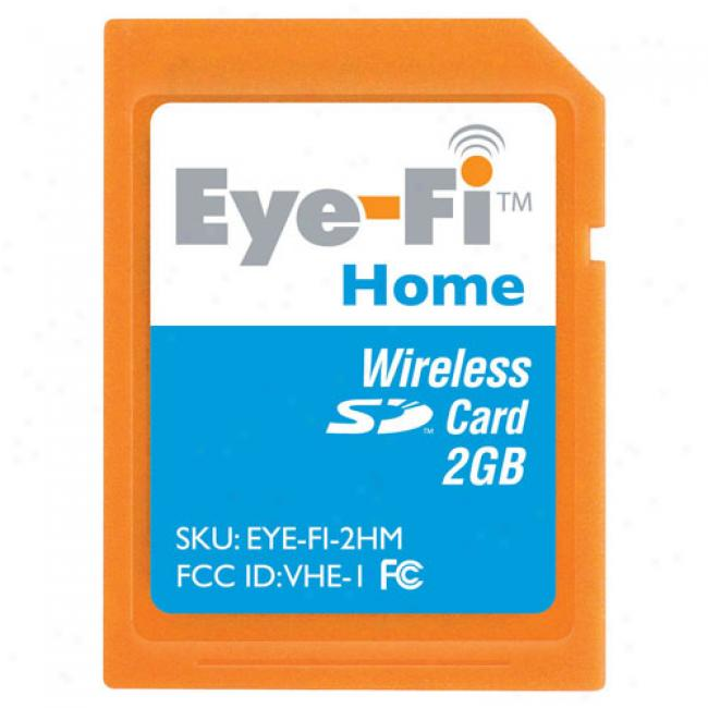 Eye-fi Wireless 2gb Sd MemoryC ard, Home