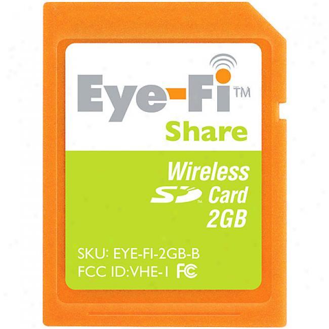 Eye-fi Wireless 2gb Sd Memory Card,S hare