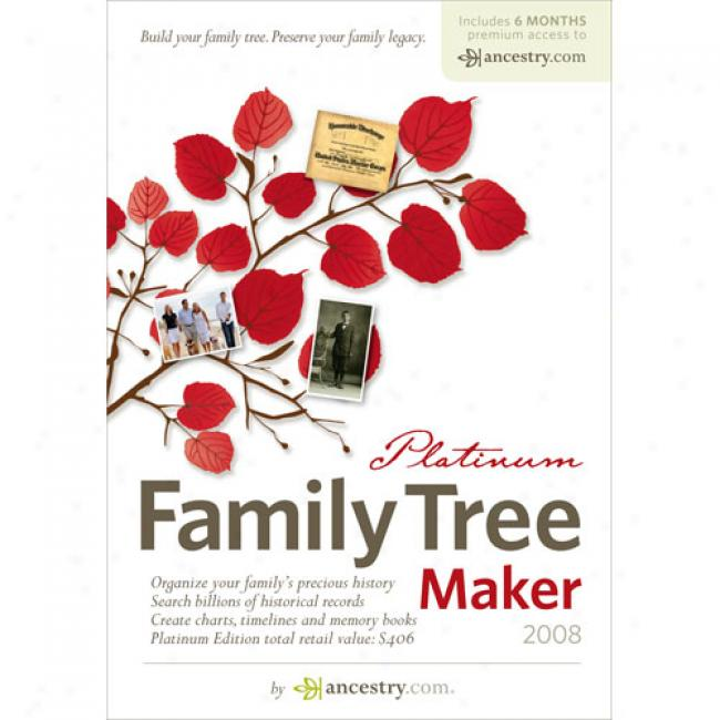 Family Tree Maker 2008 Platinum